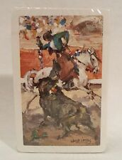 Vtg Garcia Campos Bullfighting Playing Card Deck NEW Heraclio Fournier Spain