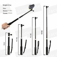 Extendable Monopod Pole Handheld Mount Selfie Stick for Sony Action Cam AS200V