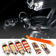 Audi A6 C6 LED Interior Kit Bright NEW 4014 SMD Bulbs White Error Free Canbus