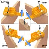 8PCS Holzbearbeitung Dübel Bohrschablone Bohrloch Jig Bohrhilfe Bohrlehre 6-10mm