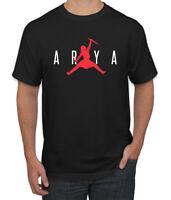 Air Arya Dagger Flip Not Today GoT Thrones Stark Fan Mens Pop Culture T-Shirt