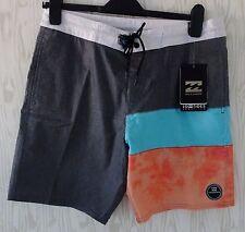 """Billabong Pantalones Cortos de Natación Surf Bañadores ~ ~ ~ W30"""" ~ bomba sería Stealth Range ~ BNWT"""