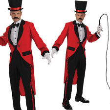 Mens Circus Ringmaster Greatest Showman Costume