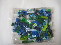NEW Lego Classic Creative 150+ GREEN BLUE LIME BRICK BAG parts box creator set