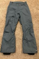 Columbia Bugaboo Ski Snow Pants Omni-Tech Women's Small Muted Green