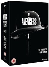 THE AVENGERS 1961-1969: COMPLETE 60's TV Patrick MacNee Diana Rigg R2 DVD