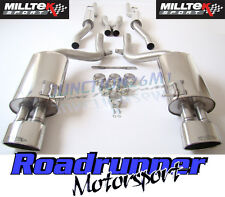 Milltek SSXAU060 Audi RS4 B7 Exhaust Cat Back Resonated (Non-Valved) Polish Tips