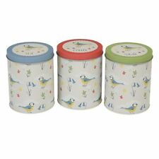 Contemporary Decorative Tins with Lid