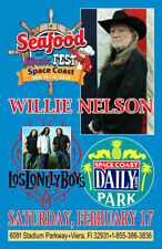 WILLIE NELSON REPLICA 2018 CONCERT POSTER