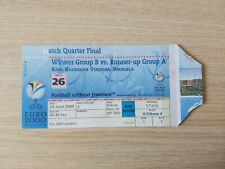 Ticket EURO 2000 Italie - Roumanie quart de finale