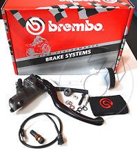 Pompa freno Brembo radiale pr 19x18 con Leva snodata e Idrostop Cod.10476070