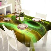 3D Space Planet 1 Tablecloth Table Cover Cloth Birthday Party Event AJ WALLPAPER