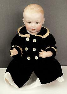"Antique George Borgfeldt Germany Bisque Baby Doll 12"" 326"