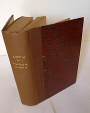 WHAT WILL HE DO WITH IT? BY PISISTRATUS CAXTON.A NOVEL BY SIR E.BULWER LYTTON