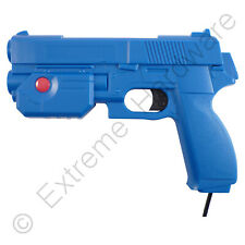 Ultimarc AimTrak Blue Arcade Light Gun with Line of Sight Aiming LCD CRT Plasma