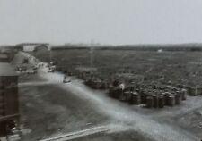 1912, Thousands of Barrels of Rosin, Savannah, Georgia,Magic Lantern Glass Slide