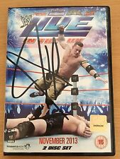 WWE UK Tour Signed DVD Orton Bryan Miz Ziggler DelRio Cena