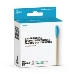 💚 Humble Brush Natural Bamboo Cotton Swabs