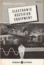 1954 General Electric Industrial Electronics  - Electronic Rectifier Equipment