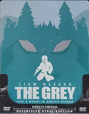 Dvd SteelBook **THE GREY** con Liam Neeson nuovo sigillato 2011