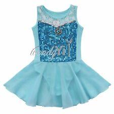 Toddler Kids Girl Ballet Dance Tutu Dress Princess Leotard Dancewear Costumes