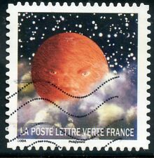 TIMBRE FRANCE  AUTOADHESIF OBLITERE N° 1332 / CORRESPONDANCES PLANETAIRES
