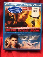 Misión Imposible 1,2, 3 BLU-RAY Con Top Gun Special collector's Edición