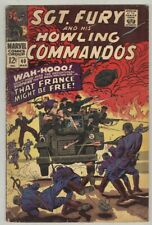 Sgt. Fury and His Howling Commandos #40 March 1967 G/VG