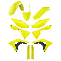 Plastic kit Honda CRF 450 R 2017 - 2020 CRF 250 R 2018 - 20 Neon Yellow 90742