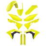 Polisport plastique Kit - HONDA CRF 450 2017 - 18 CRF 250 2018 FLUO JAUNE 90742