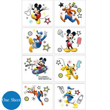 Mickey Mouse Birthday Party Supplies Favours TATTOOS SHEET