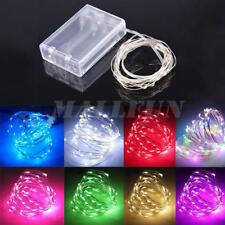 Solar/Battery Powered LED Outdoor Xmas Tree/Party/Wedding Fairy String Light
