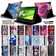 """For Various 7"""" Acer Iconia Tab Tablet - FOLIO LEATHER STAND CASE COVER + Stylus"""