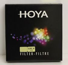 Genuine Hoya 77mm Close Up +3 Filter Brand New for Macro Photography