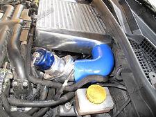 "CXRacing Top Mount 3"" Thick Intercooler Kit For 07-11 Subaru Impreza WRX Blue"