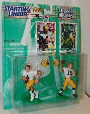 NFL Starting Lineup 1997 Classic Doubles Brett Favre Bart Star Football Figure