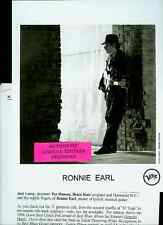 ronnie earl limited edition press kit