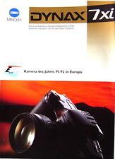 Minolta Dynax 7xi Prospekt brochure - (0351)