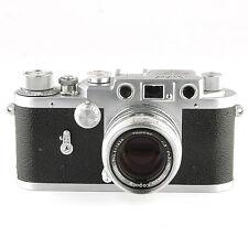 1950's Leotax F with Topcor-S 50mm 1:2 f=5cm 35mm Rangefinder Film Camera