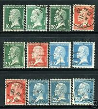 TIMBRES N° 170-181 OBLITERES TB