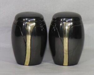 Cremation Urn | Small Urn | | Keepsake Urn | | Metal Urn| (Set of 2)