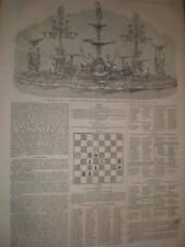 Testimonial silver dessert service for W Jackson of Birkenhead 1865 print ref C