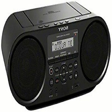 Sony ZS-RS60BT CD Boombox W/ Bluetooth, NFC, AM/FM, USB, Headphone/Line-in Jacks