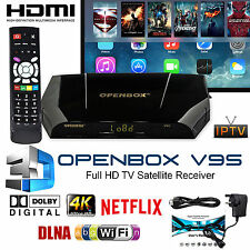 Genuine Openbox V9S Digital Full HD TV Satellite Receiver Box WIFI HDMI 1080p
