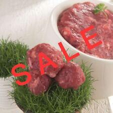 30 x 1 kg Rindfleisch, Barf, Frischfleisch, Hundefutter, Angebot, tiefgefroren