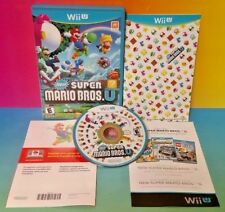 New Super Mario Bros. U - Nintendo Wii U Game Tested Complete 1-4 players