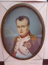 Bella,Moltissimo Vecchio Miniatura__Napoleone Bonaparte__Ritratto in Miniatura