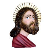 Holy Face fiberglass statue cm. 50