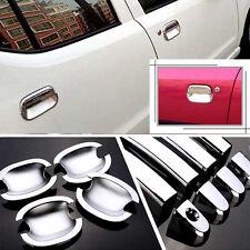 Non-Rusty Chrome Door Handle Bowl Cover Cup Overlay Trim For Suzuki Alto 2009-16