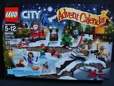 NEW LEGO CITY 2015 Advent Calendar 60099 Christmas Countdown Santa Tree Train